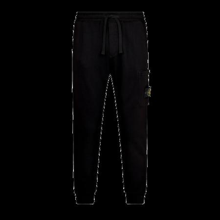 Stone Island Fleece Pants - Black