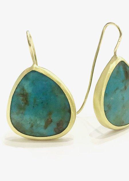 Heike Grebenstein Heike Persian Turquoise Earrings