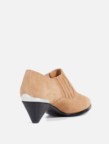 Joie Baler Suede Boot - Camel
