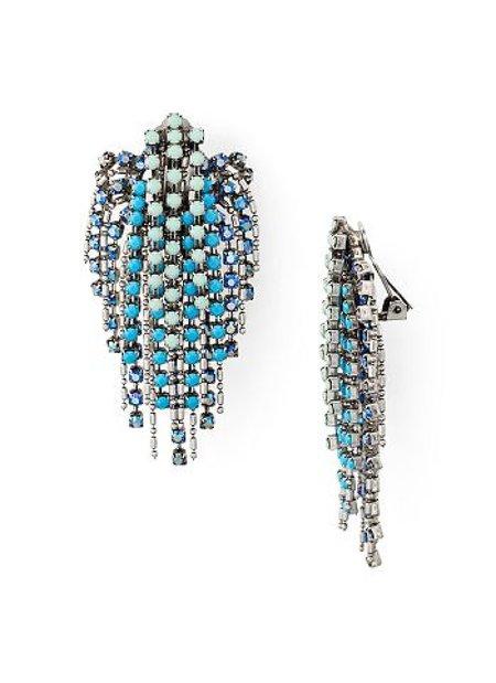 Dannijo Cecile Earrings - Blue