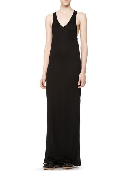 T By Alexander Wang Classic Tank Dress - Black