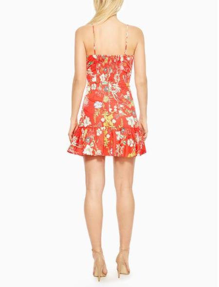 Parker NY Dany Dress - Red Sangria