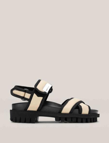Ganni Hiking Sandals - Ermine