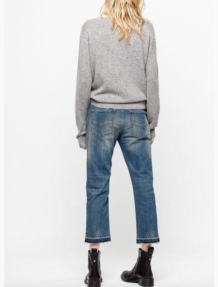 Zadig & Voltaire Life Cashmere Sweater - Gris