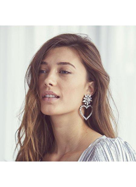 Dannijo Lima Earrings - Silver