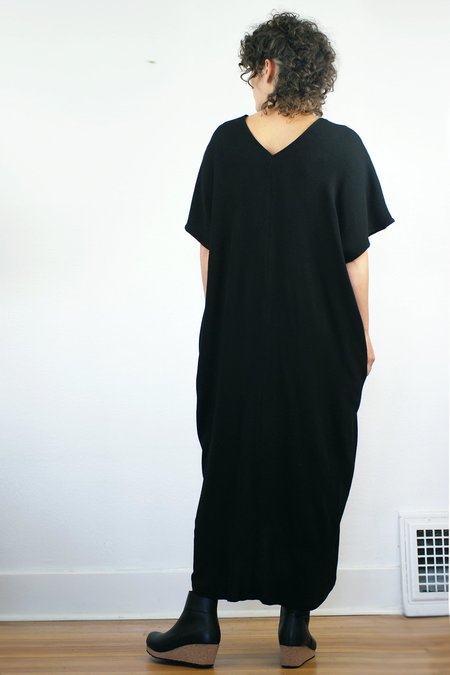 Lu. Hostess Dress - Black
