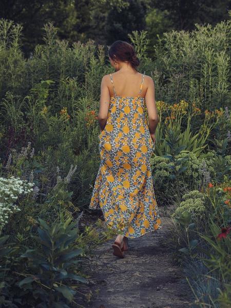 Mille Sienna Maxi Dress - Marigold