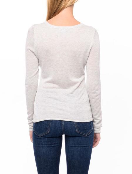 Line Knitwear Robin Sweater - limestone