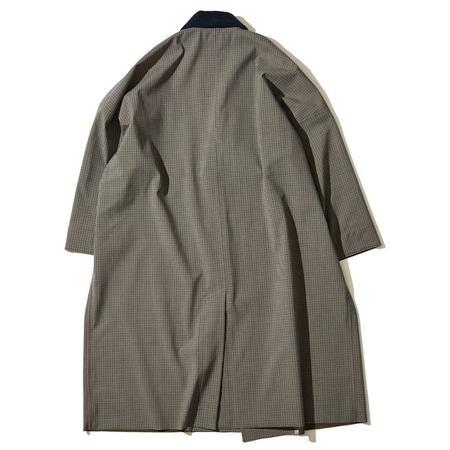 F/CE Gunclub Wrap Rain Coat - Brown