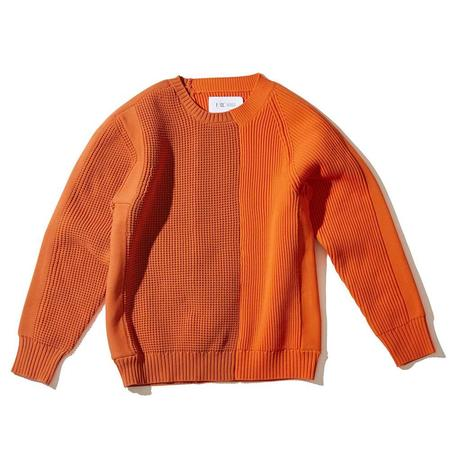 F/CE Left Right Knit Crew sweater