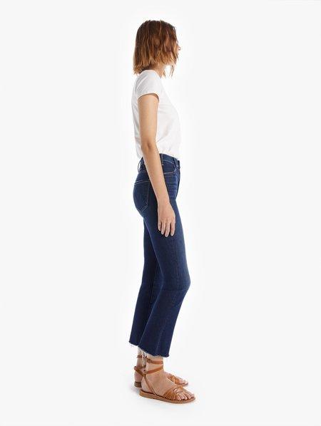 Mother Denim The Hustler Ankle Fray Jeans - Teaming Up