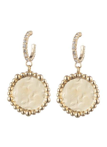 Dannijo Twiggy Earrings - Gold