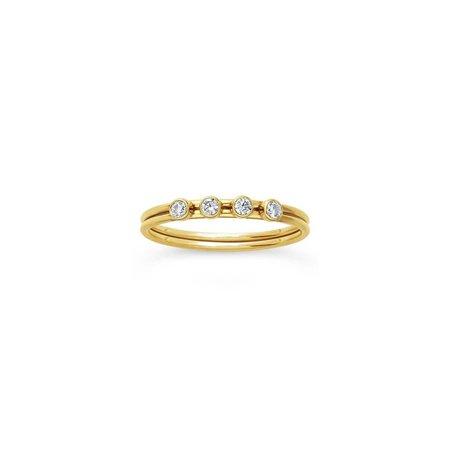Olwen Amelia Ring - 14k gold filled