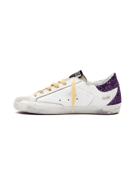 Golden Goose Superstrar Sneakers With Yellow Laces