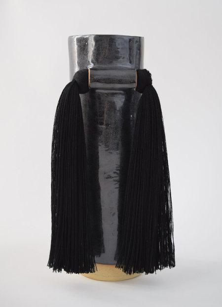 Karen Gayle Tinney #531 Vase - Black