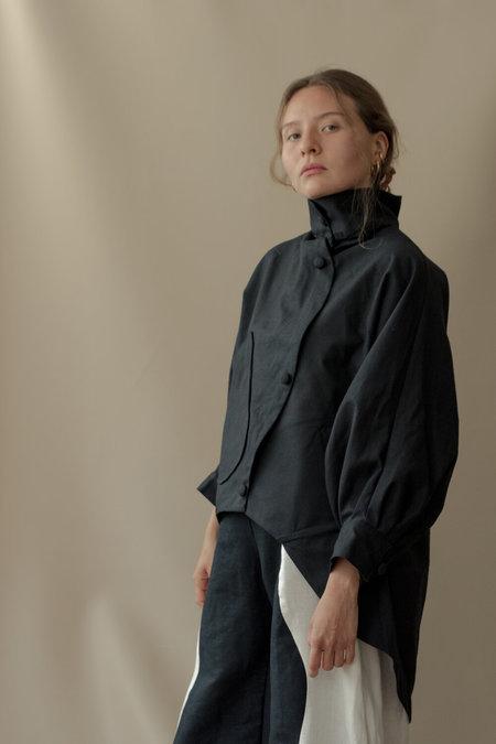Nin Studio Burbuja Cotton Jacket - Black
