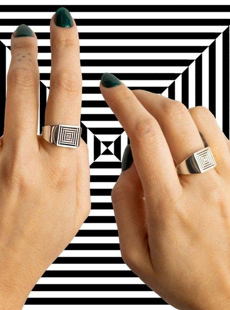 Gilbert Portal Ring - Silver