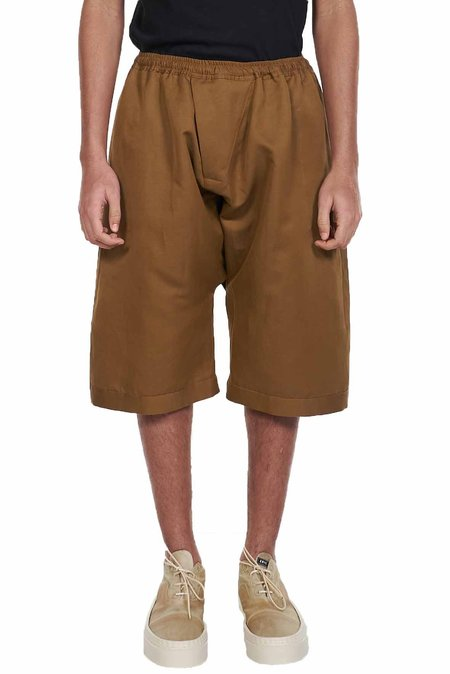 Jan-Jan Van Essche Loose Fit Shorts - Amber