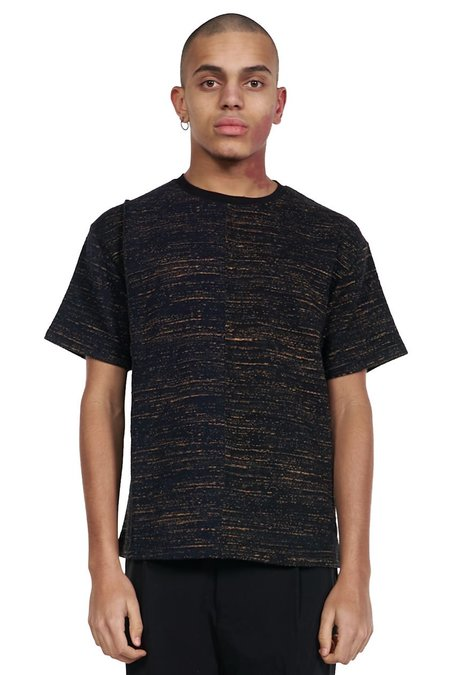 ANDERSSON BELL Fabric Contrast T-shirt - Black