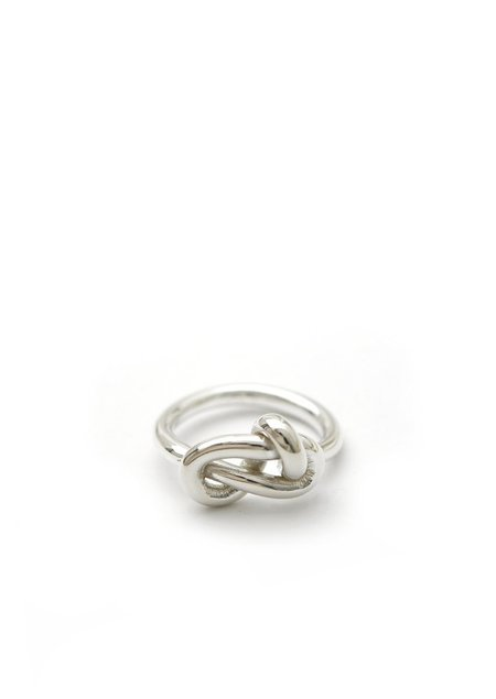 Tiro Tiro Knot Ring - Sterling Silver