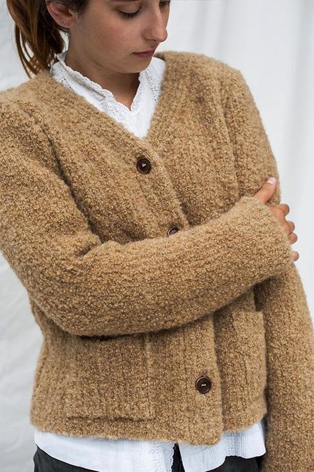 L'ENVERS NANA Wool Cardigan