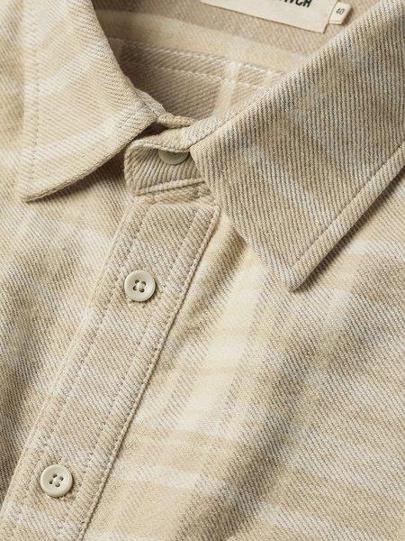 Taylor Stitch The Ledge Shirt - Sand Plaid