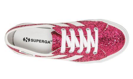 Superga 2953 Glitter sneakers - Fuchsia