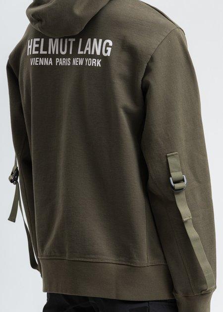 Helmut Lang Sleeve Strap Hoodie - Khaki