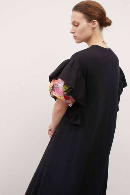 Kowtow Frill Dress - Black