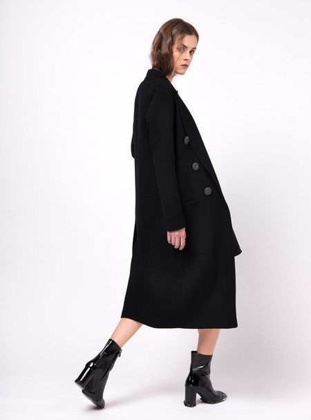 Series Noir Eva Coat - Black