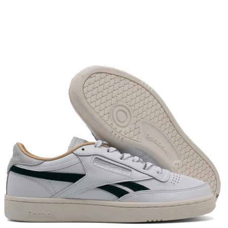 Reebok Club C Revenge Sneakers - White/Gold Metallic