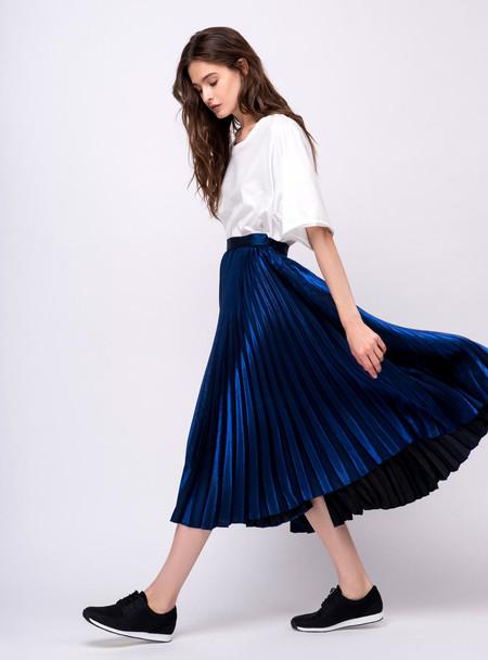 Series Noir Kelly Skirt - Electric Blue