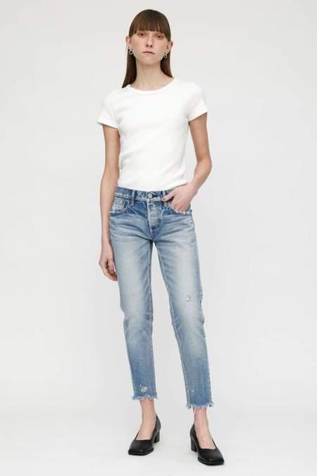 MOUSSY Keller Tapered Jeans - Light Blue