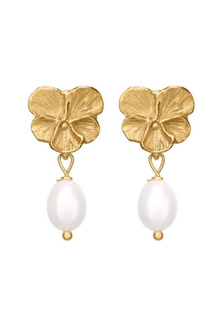 Parel Parel Pansy Pearls Earrings