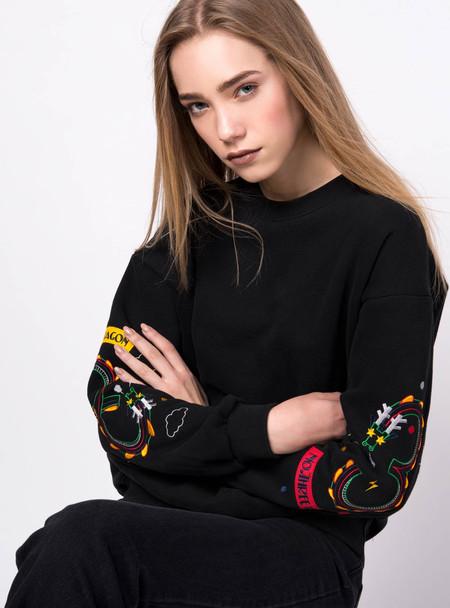 Series Noir Yoko Sweatshirt - Black
