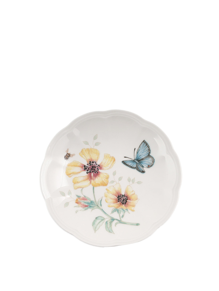 LENOX BUTTERFLY MDW DW PARTY PLATES SET OF 6