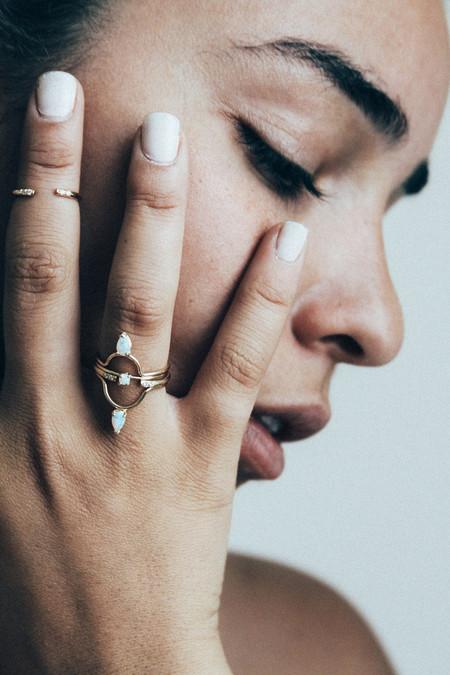 Amarilo Faye Ring - 14K Gold