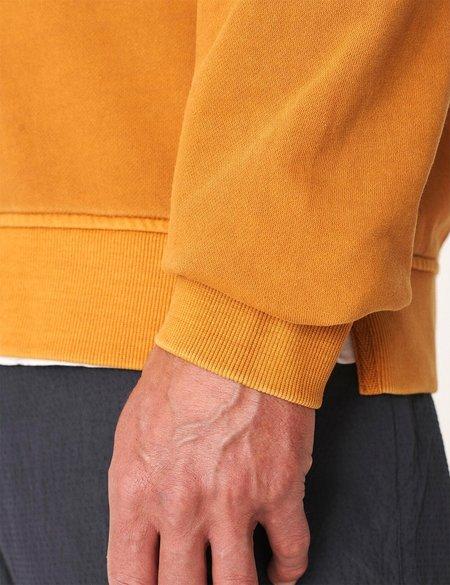 YMC Sugden Zip Sweatshirt - Yellow