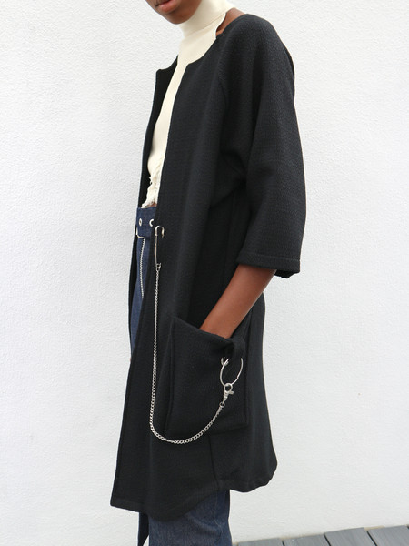 Bad Form The Left Field Coat - Black