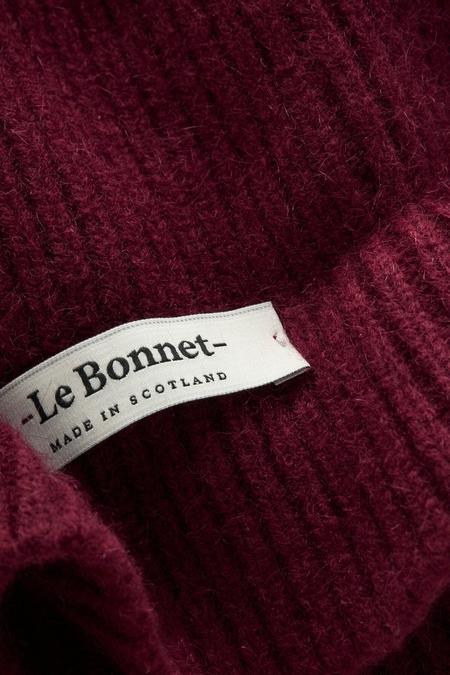 Unisex Le Bonnet Beanie - Wine