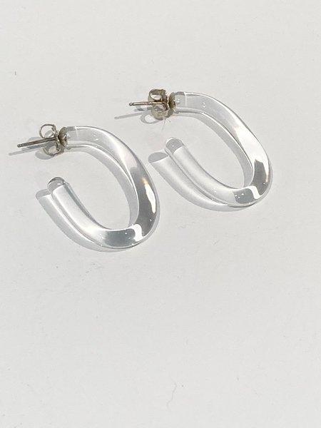 Leigh Miller Small Glass Hoops