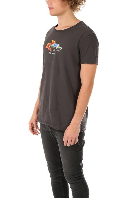 Ksubi Life Machine T-Shirt  - Back To Black
