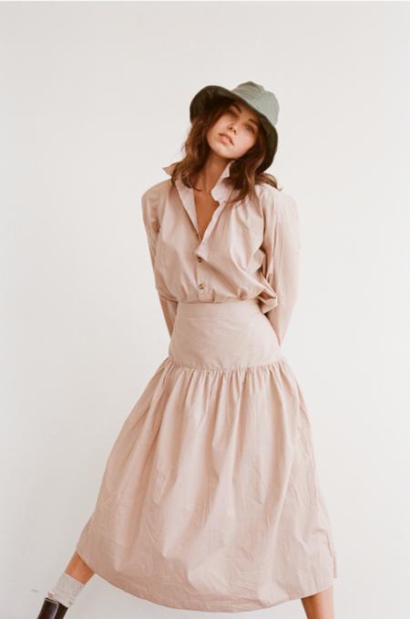 Wellington Factory Ester Skirt - Muted beige