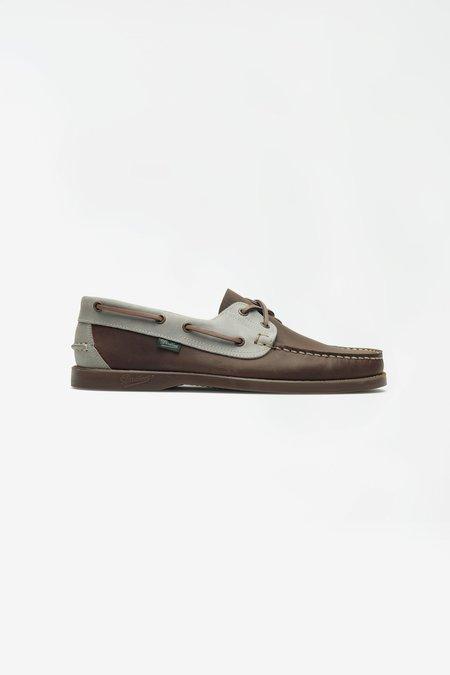 Paraboot Barth shoes - Nubuck Grey/Brown