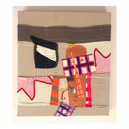 Debby Weiss In the Tower Textile Art