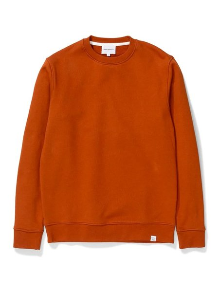 Norse Projects Vagn Classic Sweat - Burnt Havthorn
