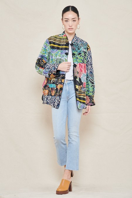 ciao lucia Macro Patchwork Jacket - PATCHWORK