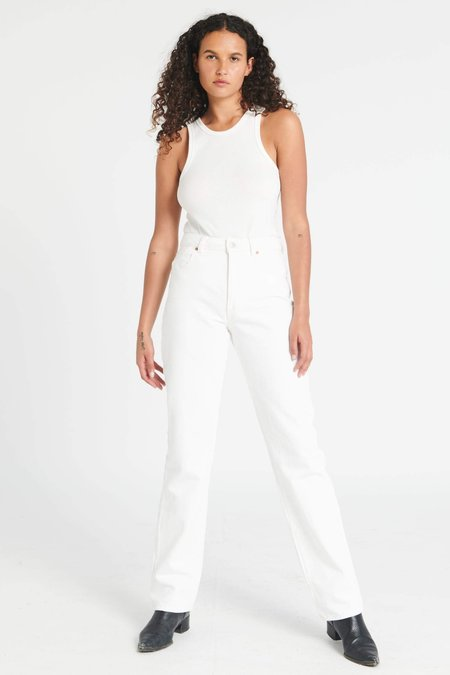 Rollas Classic Straight pants - Vintage White