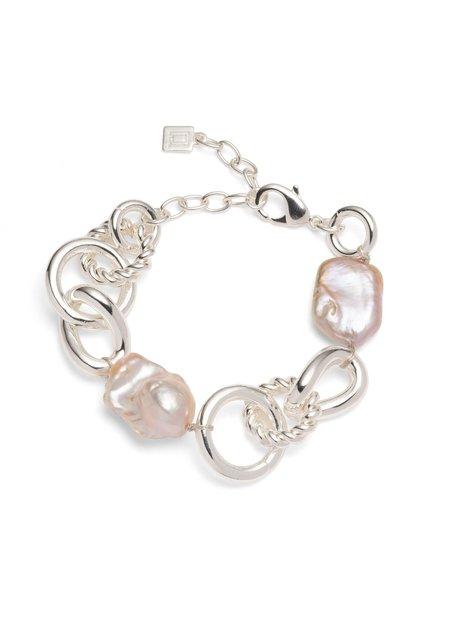 Dannijo Nicolette Bracelet - silver