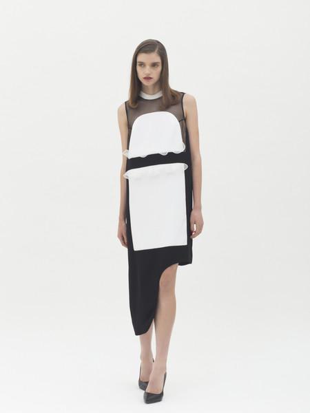Karla Spetic Contrast Dress